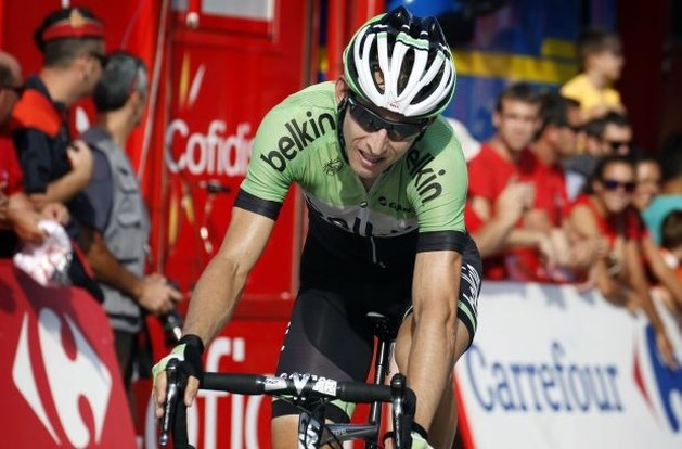 Mollema verrast sprinters in Vuelta