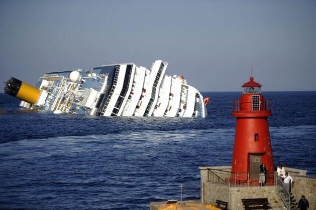 Costa Concordia wordt volgende week rechtgetrokken