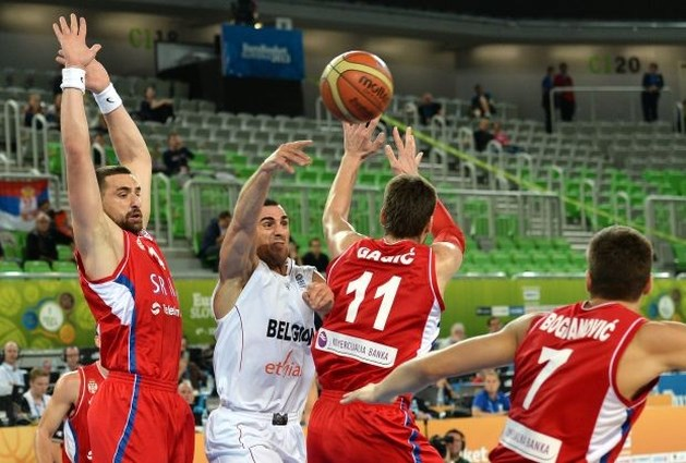 Belgian Lions nipt onderuit tegen Servië op EK basketbal