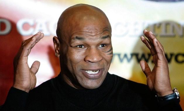 Mike Tyson komt naar Brussel met onemanshow