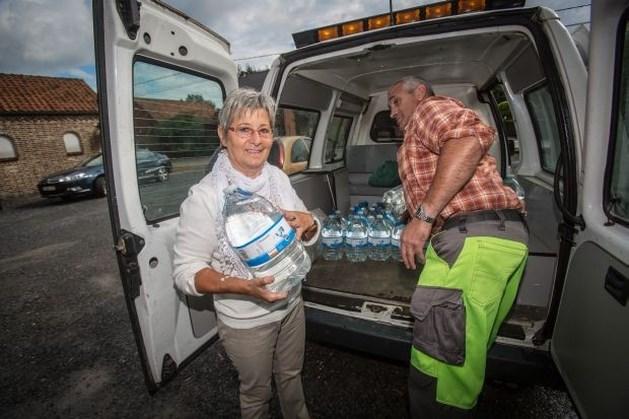 120 gezinnen in Geetbets hebben opnieuw water