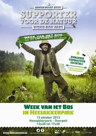 Overpelt gastheer provinciale openingshappening 'Week van het Bos'