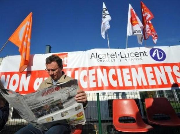 """Vakbonden Alcatel-Lucent: """"Enkele tientallen functies verdwijnen"""""""