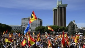 Tienduizenden Spanjaarden protesteren tegen vrijlating ETA-leden
