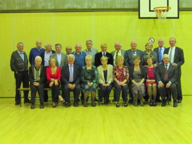 Samenkomst 75-jarigen in Neeroeteren