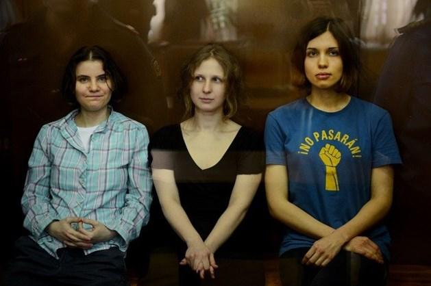 Bezorgdheid over opgesloten Pussy Riot-lid Tolokonnikova