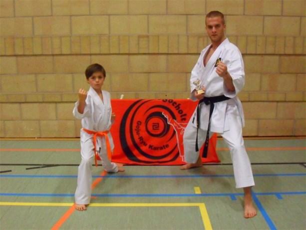 Goju-Ryu Karate Bocholt doet het goed in Oost-Vlaanderen