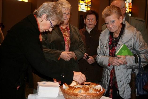 Hubertusbrood gewijd in Brustem