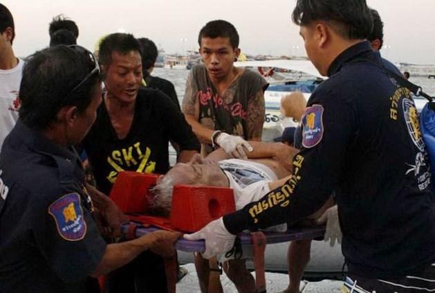 Zeker zes doden bij schipbreuk Thaïse ferry bij Pattaya
