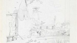 Bijzondere tekeningen van het 19-eeuwse Diepenbeek nog enkele weken in het Emile Van Dorenmuseum