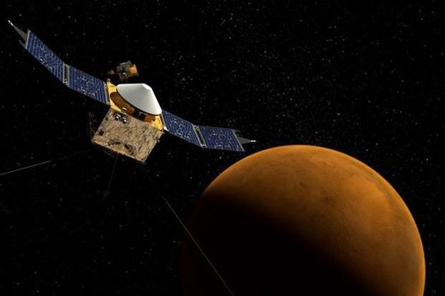 """Blik op de Ruimte: """"Onderweg naar Mars """""""