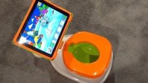 Producent laat peuters met iPad op het potje gaan