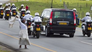 Lichaam Mandela aangekomen in Qunu