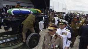 Nelson Mandela begraven