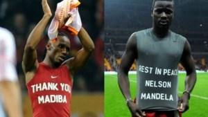 Geen sanctie voor hommage aan Mandela op shirts Drogba en Eboué
