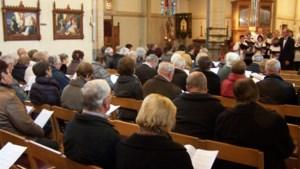 Stemmig 'U zijt Wellekome' in de kerk van Reppel