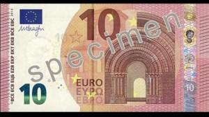 Dit is het nieuwe 10-eurobiljet (video)