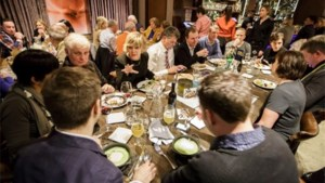 Washington-reizigers eten in Belgisch restaurant B'Too