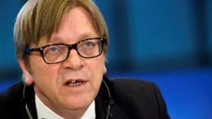 Guy Verhofstadt is kandidaat-Commissievoorzitter voor Europese liberalen