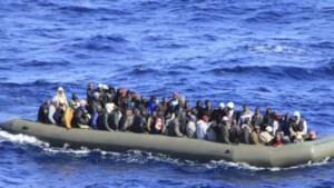 Meer dan 1.000 vluchtelingen gered voor kust van Lampedusa