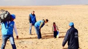 Kleuter (4) steekt in z'n eentje Syrische woestijn over