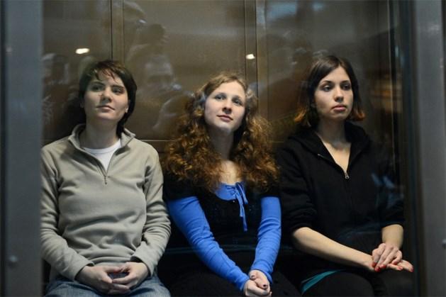 Twee leden Pussy Riot weer vrij na protestactie in Sotsji