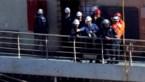 Kapitein bezoekt scheepswrak Costa Concordia