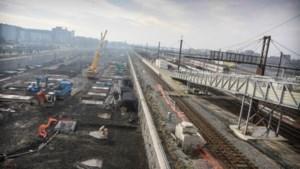 Nieuwe station Bergen niet af voor 2017