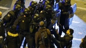 Minstens 70 gewonden bij anti-besparingsbetoging in Madrid
