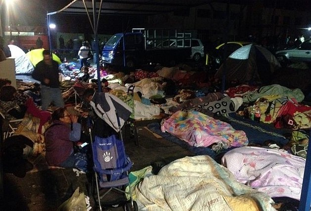 Reeks aardbevingen in Chili gaat voort
