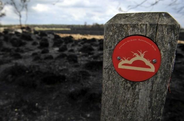 Brandfase oranje in Vlaamse natuurgebieden