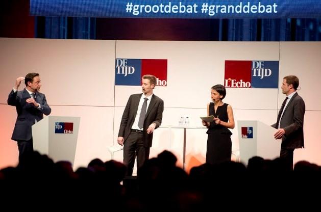 Pittig debat tussen De Wever en Magnette