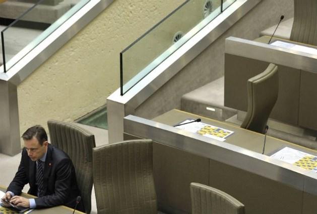 De Wever een van de minst ijverigen in parlement
