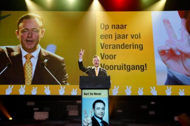 """De Wever: """"Het is tijd voor de N-VA"""""""