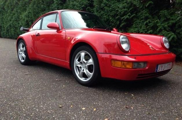 Opnieuw peperdure Porsche oldtimer gestolen in Hasselt