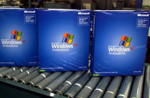 Ctrl-alt-delete voor Windows XP