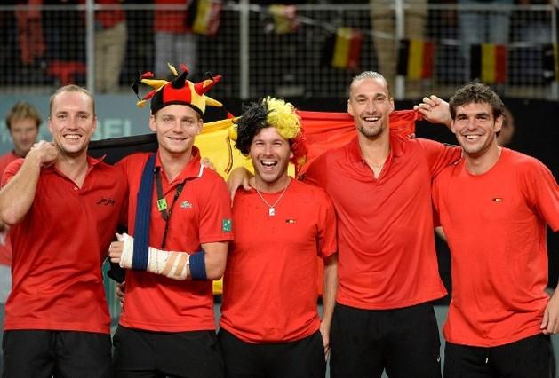 België treft Oekraïne in barrages Wereldgroep Davis Cup