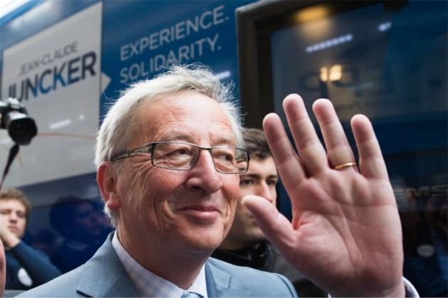 Juncker op verkiezingstournee langs Antwerpse haven