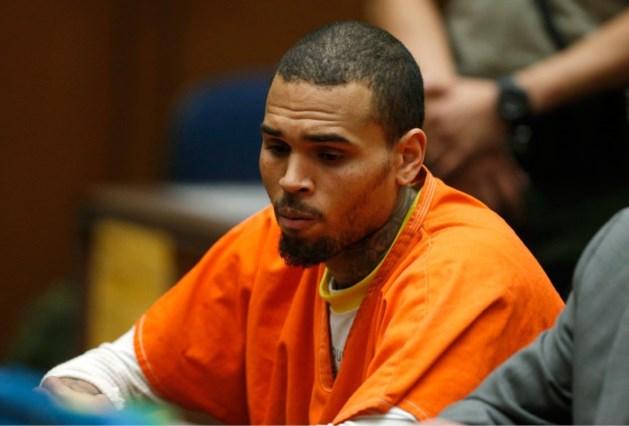 Chris Brown nu in gevangenis in Washington