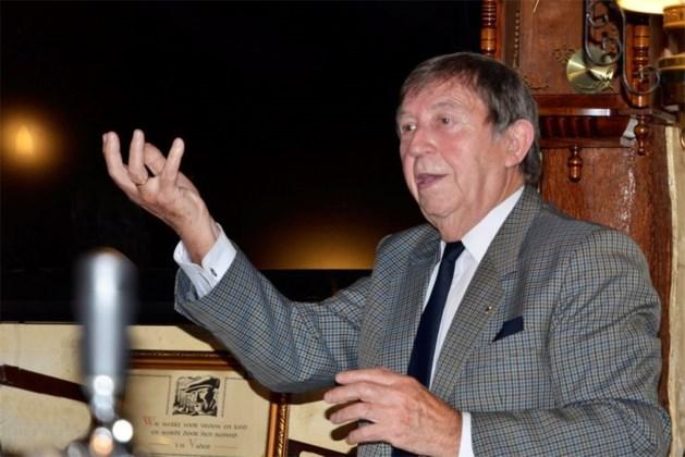 Armand Mesotten op het vertelweekend in Alden Biesen