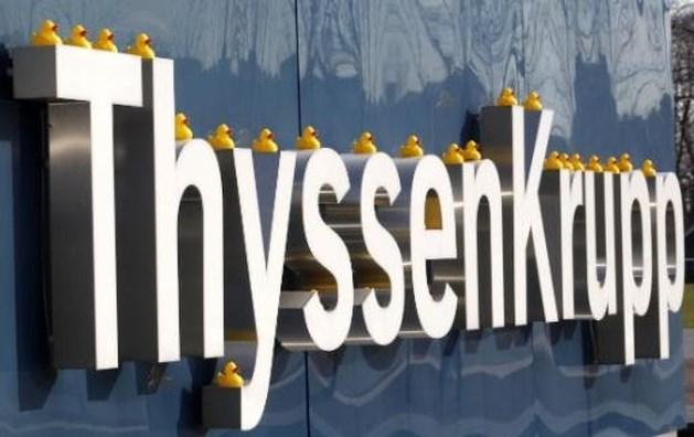 ThyssenKrupp voert gesprekken voor verkoop scheepswerven in Zweden aan Saab