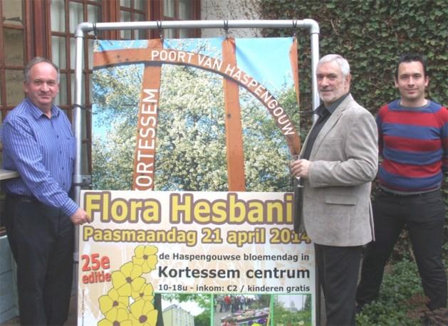 Flora Hesbania viert haar zilveren jubileum