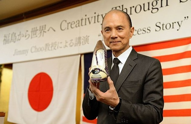 Jimmy Choo steekt ambachtslui uit Fukushima hart onder de riem