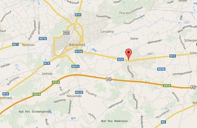 70-jarige zwaargewond bij auto-ongeluk in Aarschot
