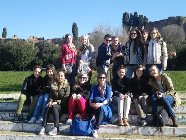 Studenten vijf dagen in Rome