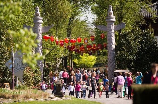 Recordaantal bezoekers voor Pairi Daiza tijdens paasvakantie