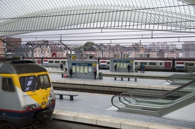 Treinverkeer verstoord door wilde staking in Luik