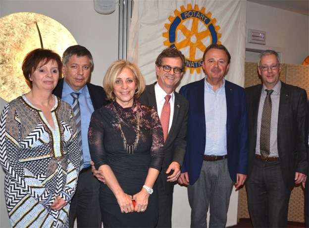 Amerikaanse ex-ambassadeur bij Rotary Lanaken-Maasland