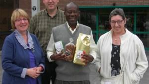 Koffiepartner van Oxfam-Wereldwinkels op bezoek in Hasselt