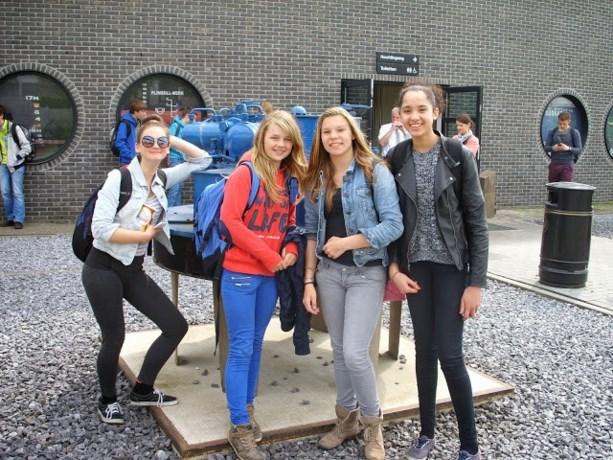 Leerlingen van 2A bezoeken de haven van Antwerpen